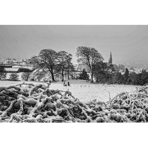 Horsforth Hunger Hills Snow