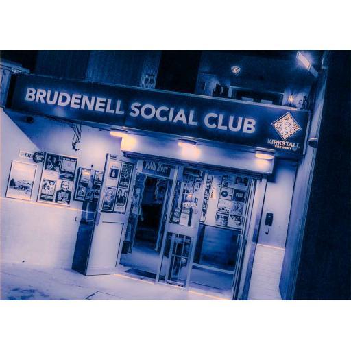 Brudenell Social Club art print Blue