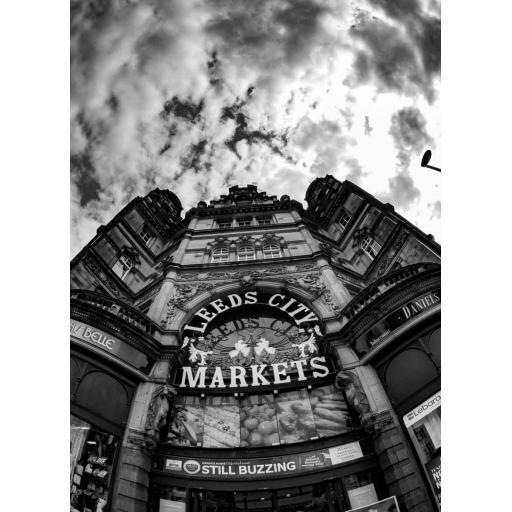Leeds City Markets Skyline