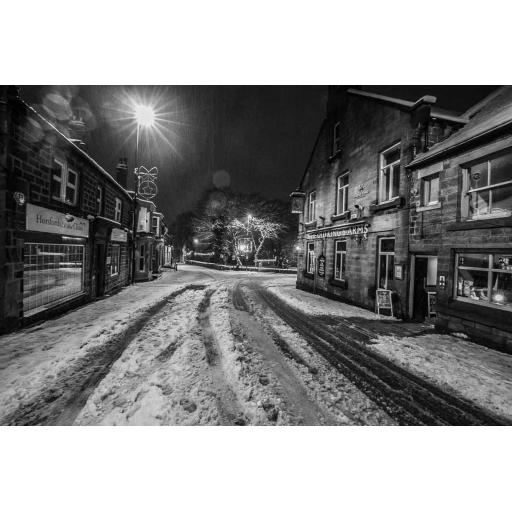 Old Kings Arms in Winter, Horsforth